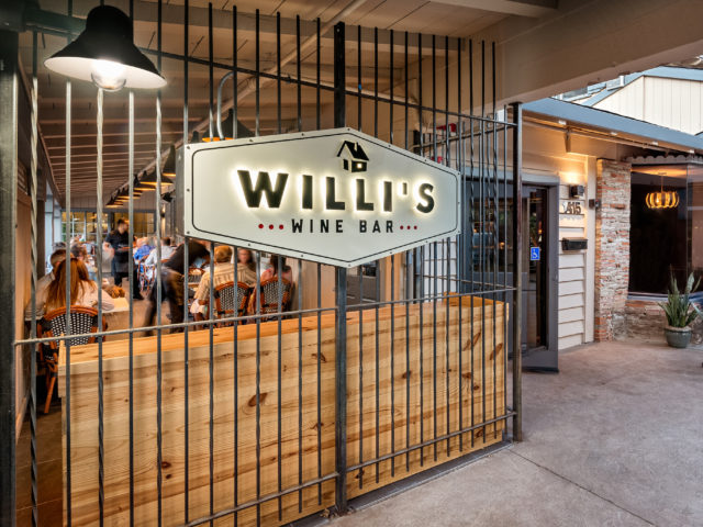 Willi's Wine Bar- Walk ins are welcome